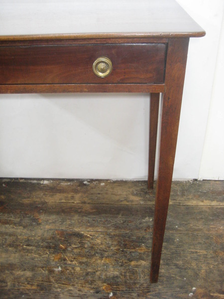 Antique George III Mahogany Side Table