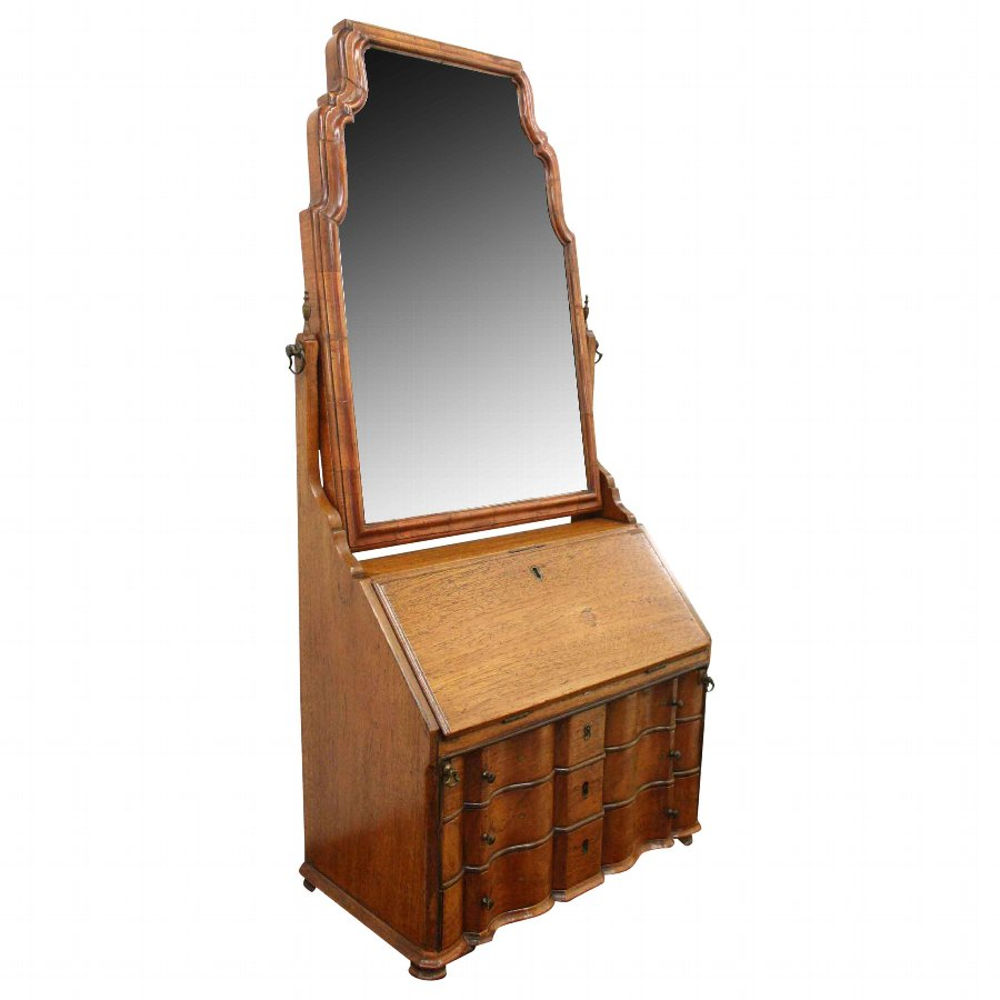 Dutch Walnut Dressing Mirror