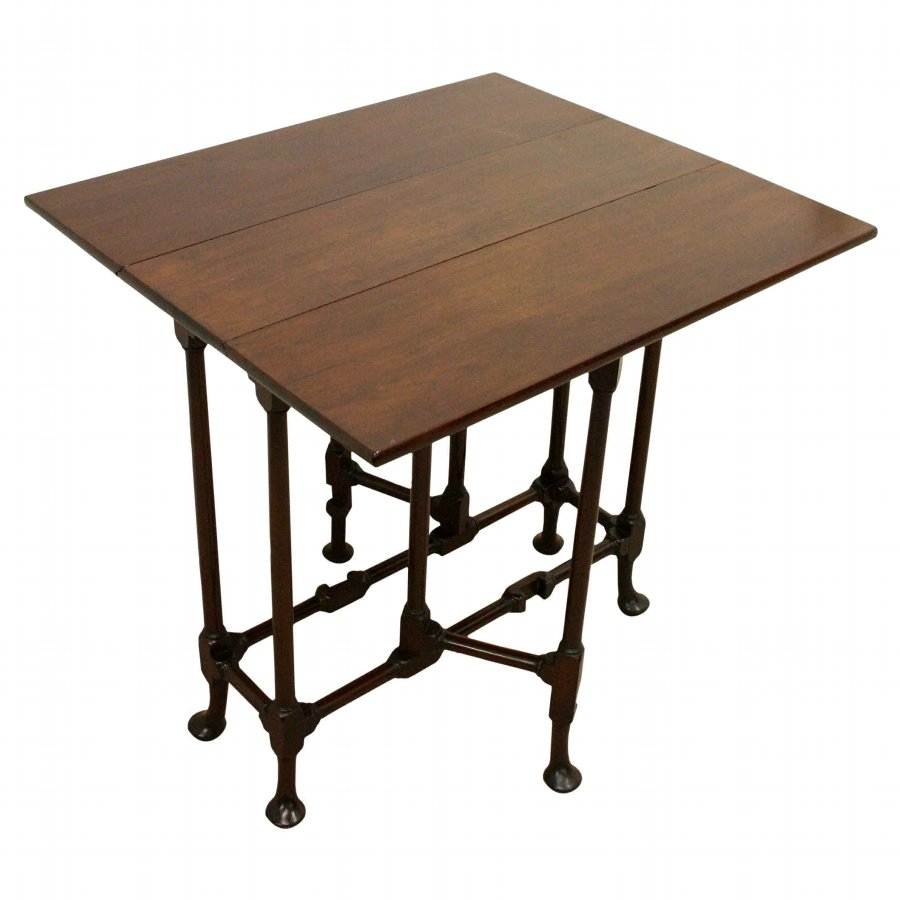 Antique George II Style Mahogany Spider Leg Table