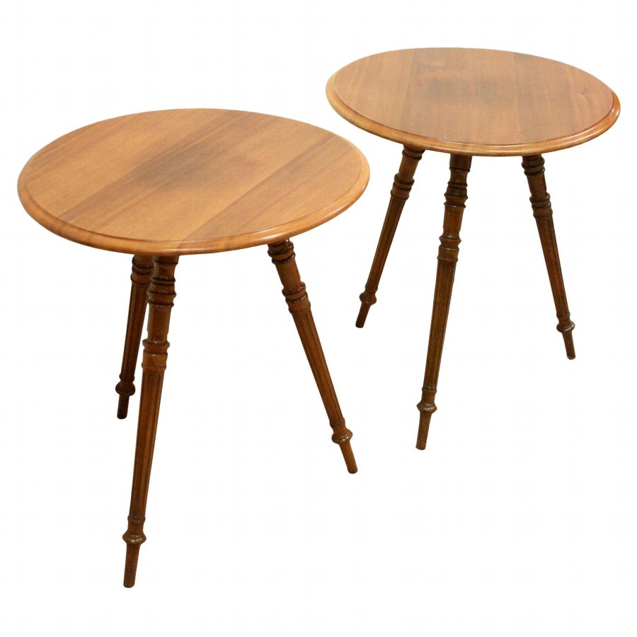 Pair of Gypsy Style Occasional Tables