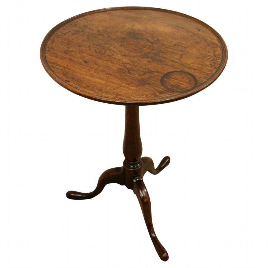 George III Provincial Snap Top Occasional Table
