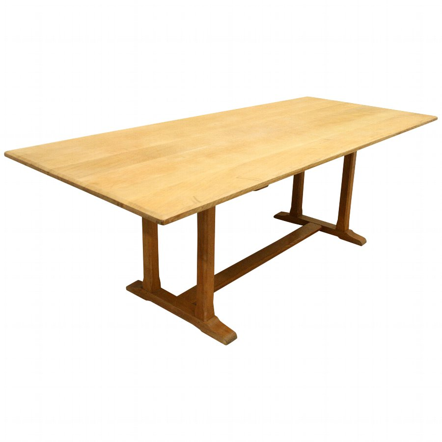 pretty nice 535bd cd831 Heals Style Oak Refectory Dining Table