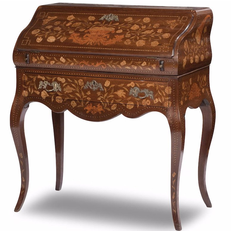 Dutch Marquetry Ladies Writing Desk/Bureau