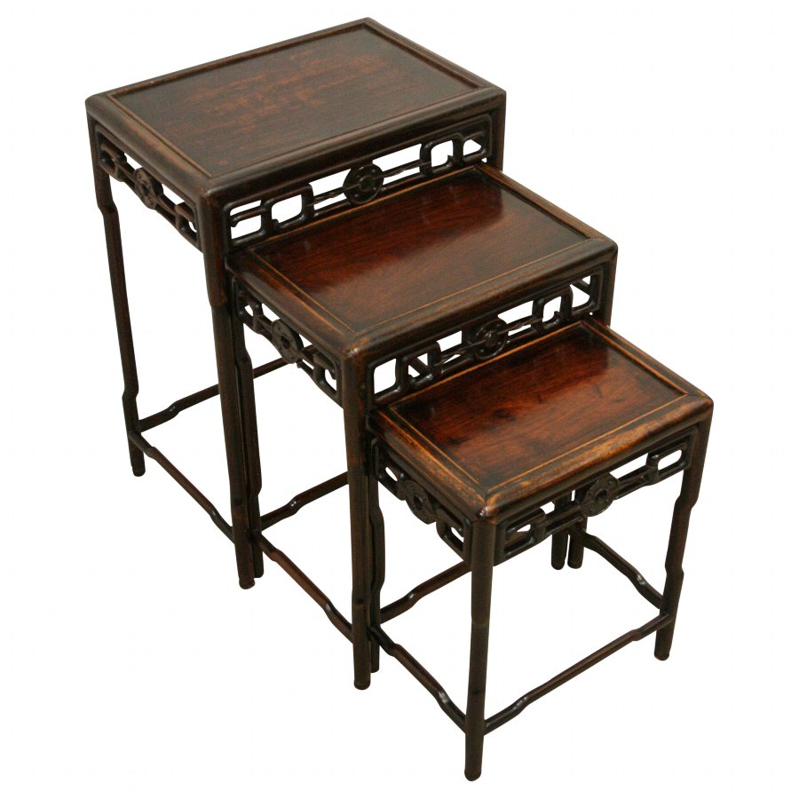 Chinese Nest of Hardwood Tables