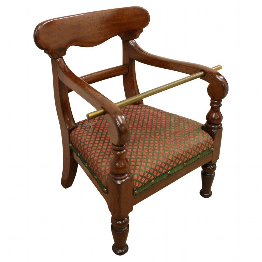 Victorian Mahogany Child's Chair