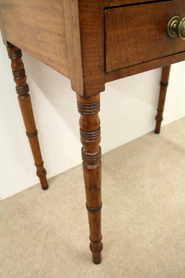 Antique George III Mahogany Low Side Table