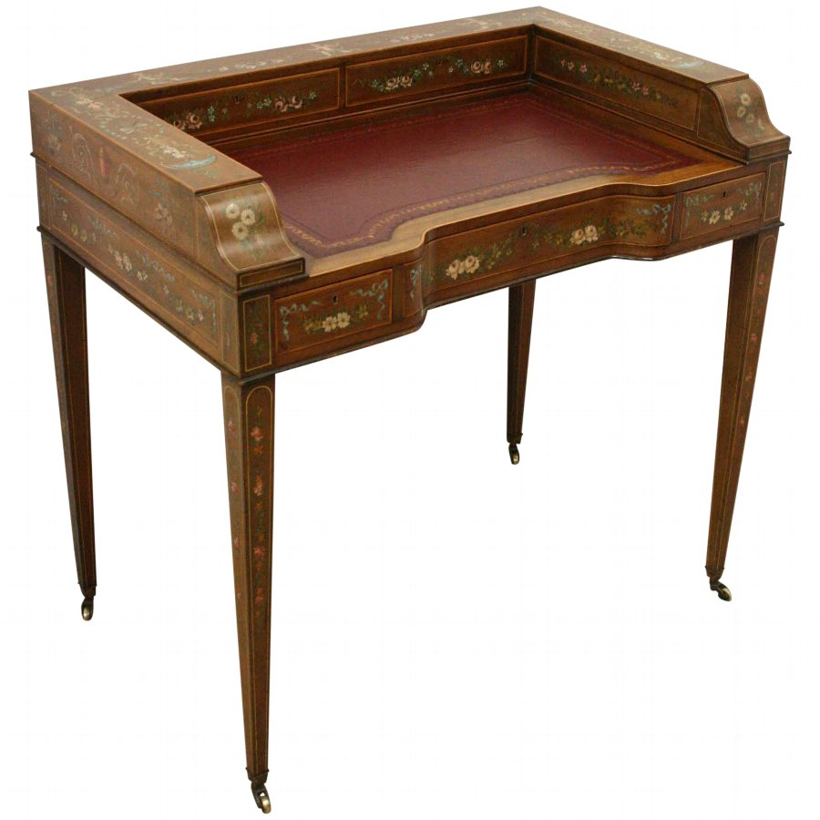 Sheraton Style Ladies Writing Table