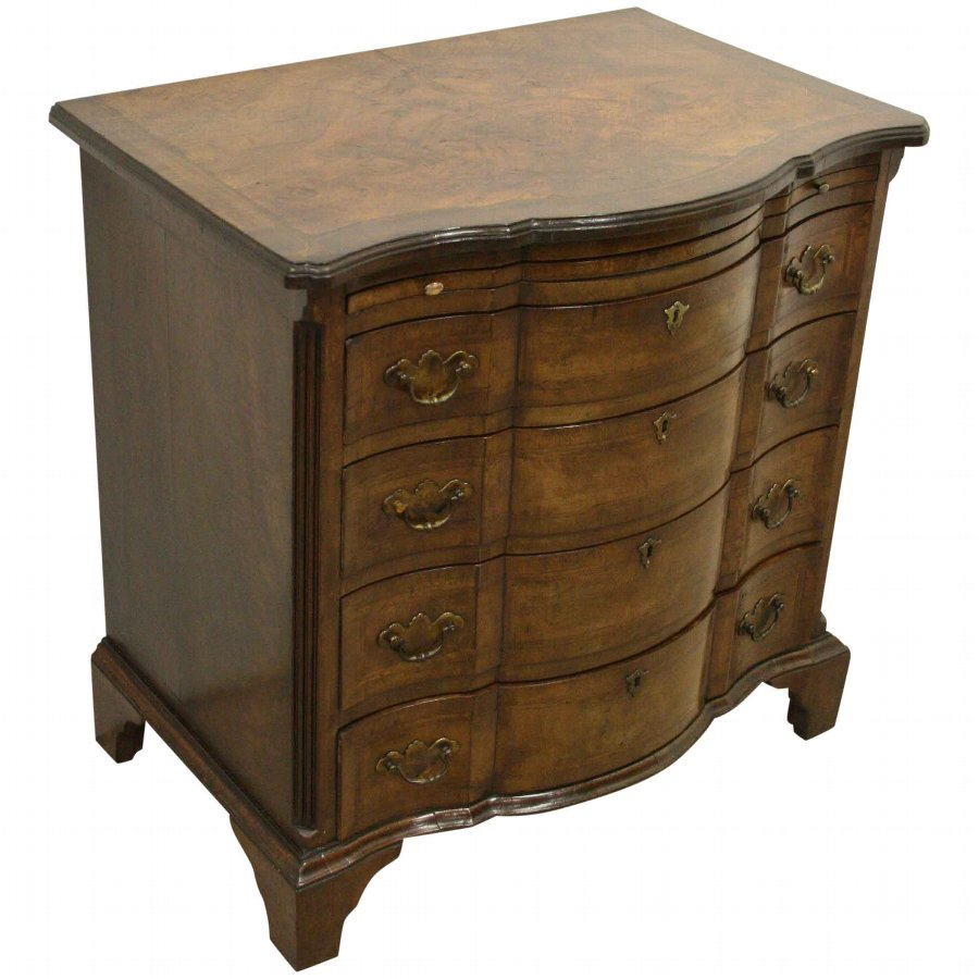 George I Style Walnut Chest of Drawers