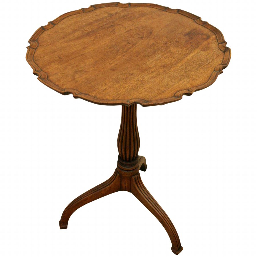 Late George III/Regency Tripod Occasional Table