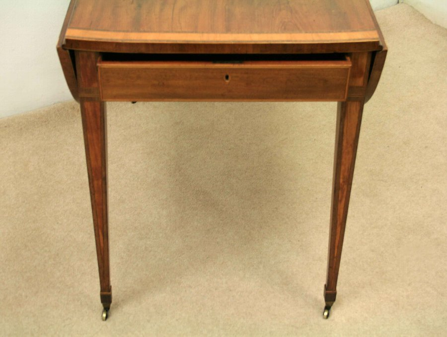 Antique George III Mahogany Pembroke Table