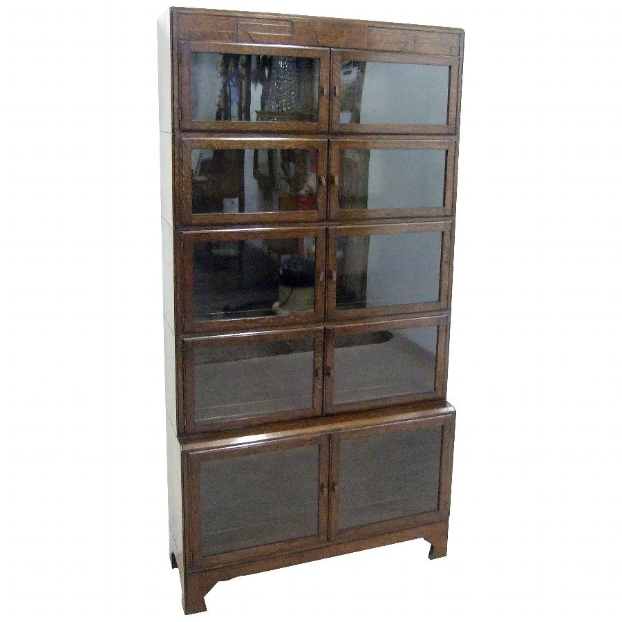 Oak Sectional/Stacking Bookcase