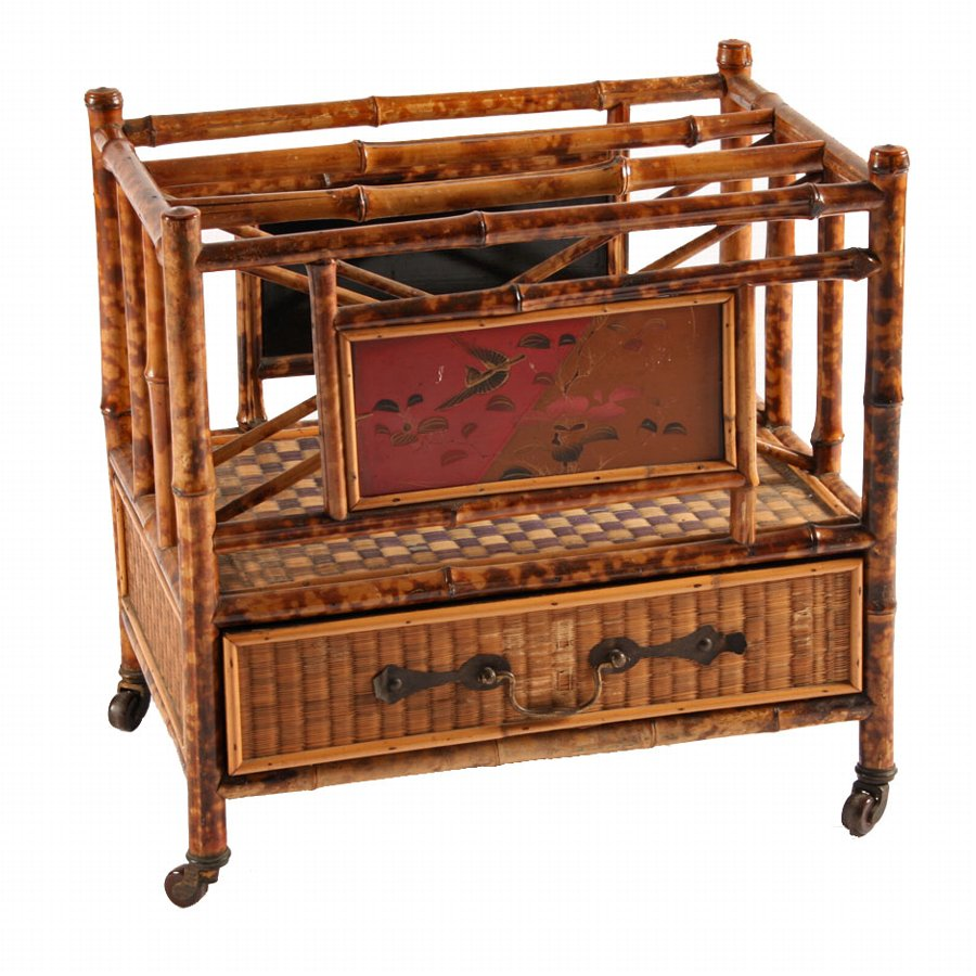Late Victorian Bamboo and Rattan Canterbury