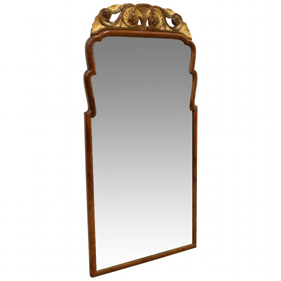 George III wall mirror.