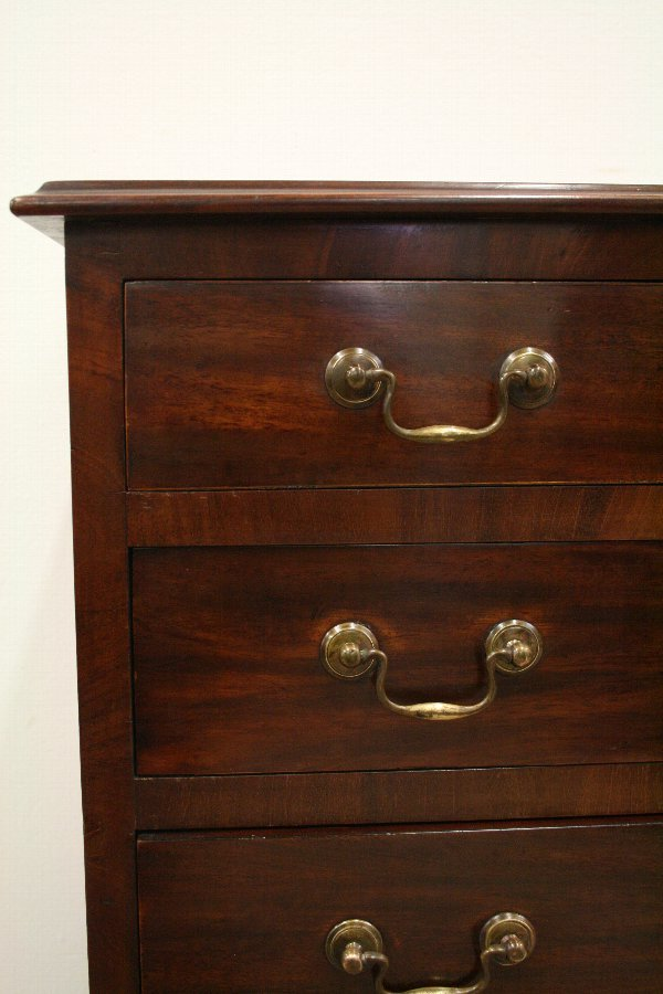 Antique George III style mahogany chest.