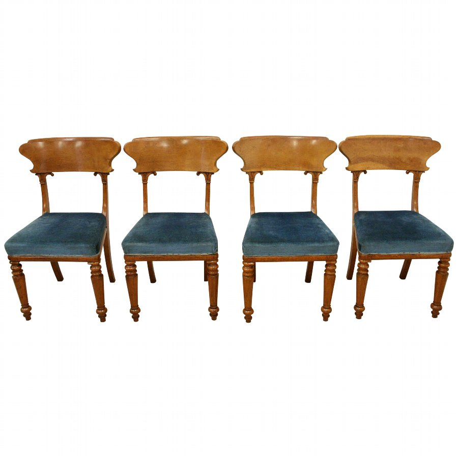 Set of 4 William IV Chairs