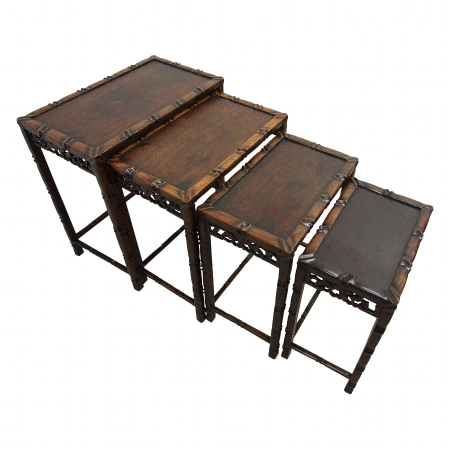 Quartetto of Chinese Rectangular Tables