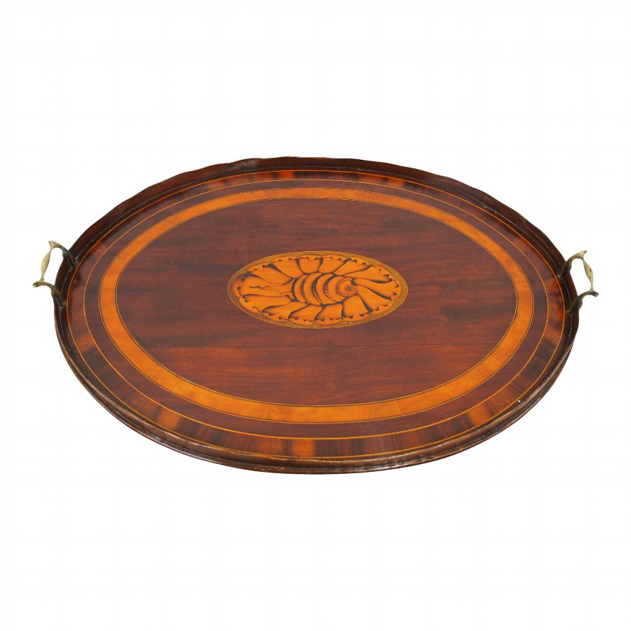 Oval Georgian Style Tea Tray