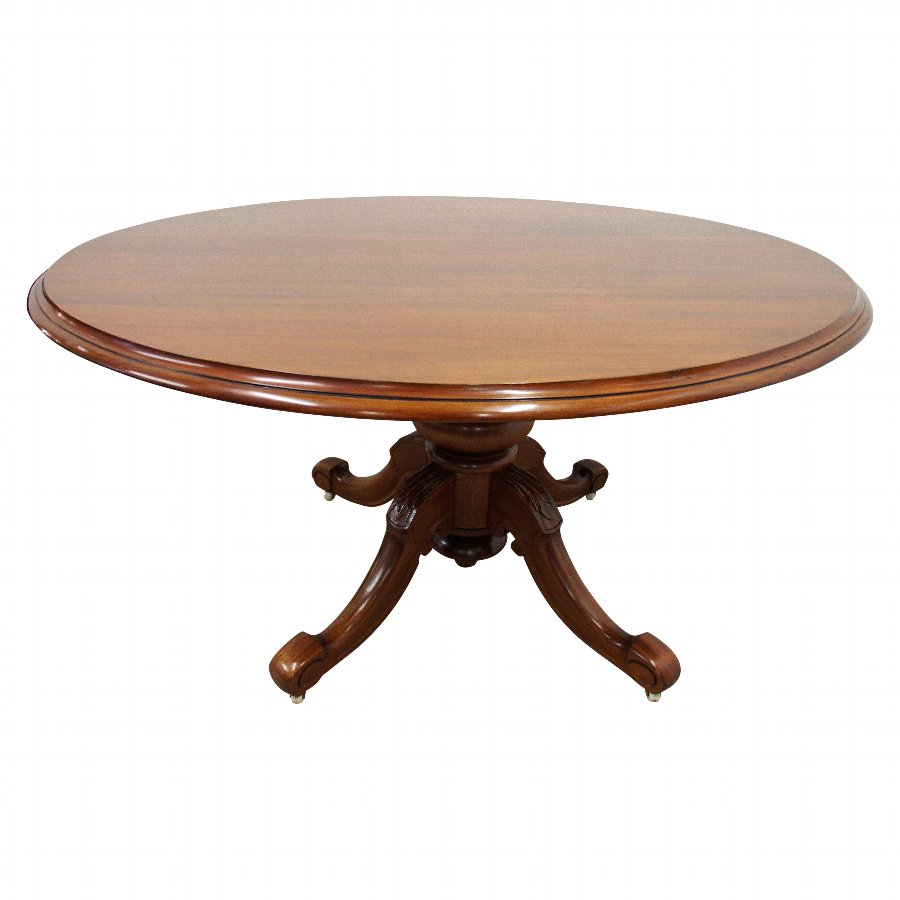 Victorian Mahogany Snap Top Breakfast Table