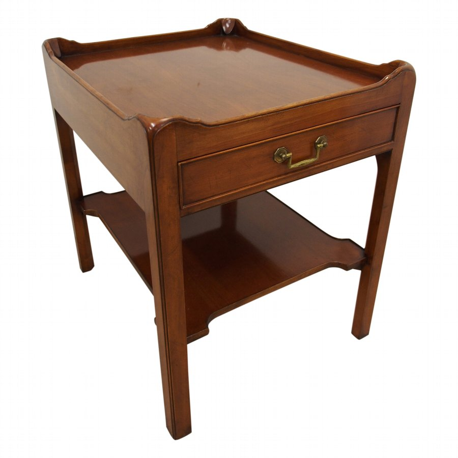 Georgian Style Mahogany Side Table