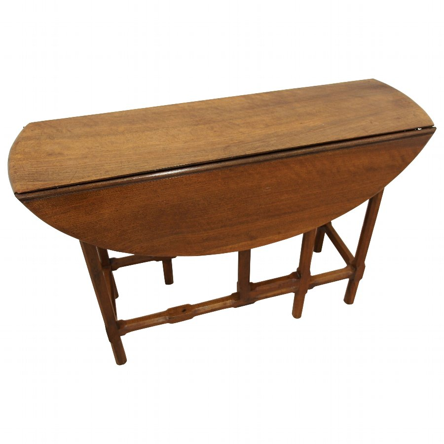 Solid Walnut Cotswolds Gate Leg Table