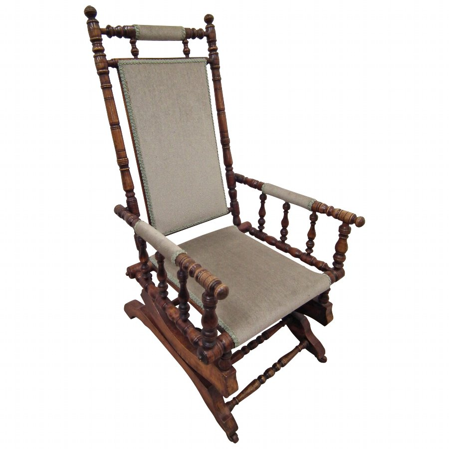 American Beech Rocking Chair