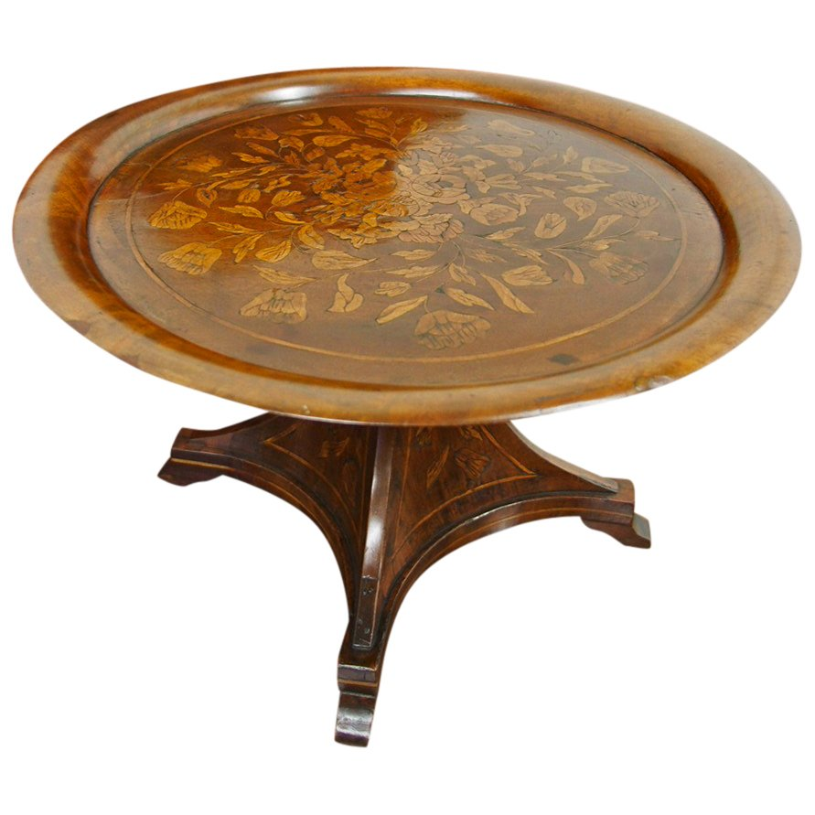 Marquetry Miniature Table