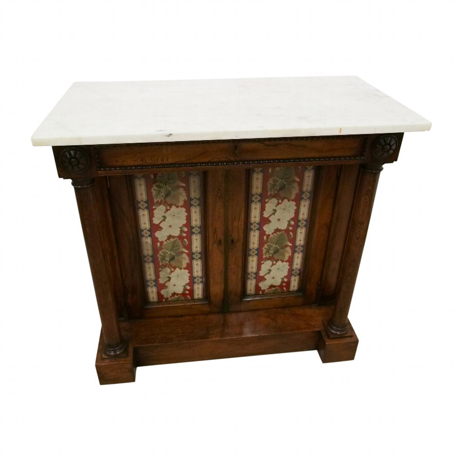 Regency Marble Topped Cabinet