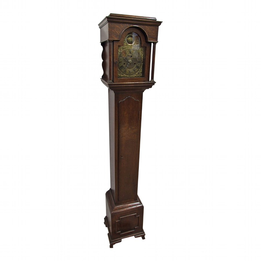 Oak Grandmother Clock