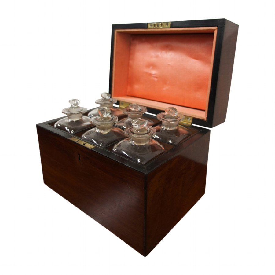 George III Mahogany Decanter Box