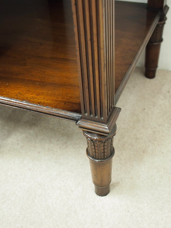 Antique Adams Style Mahogany Side or Hall Table