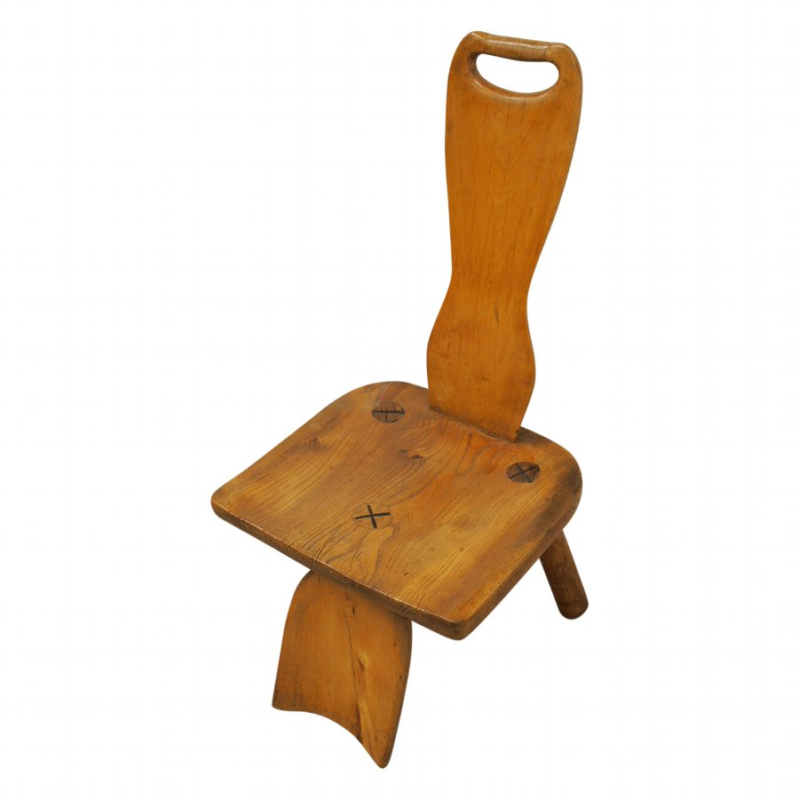 Low Elm Chair