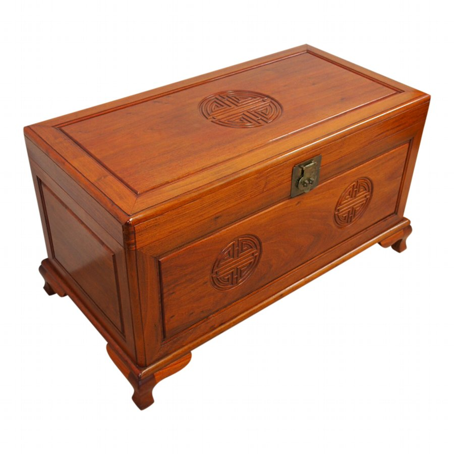 Chinese Hardwood Trunk