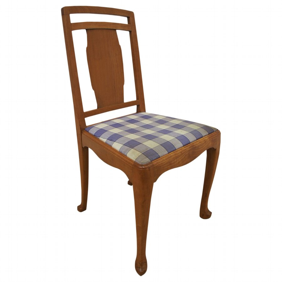 Satinwood Chair by Whytock and Reid