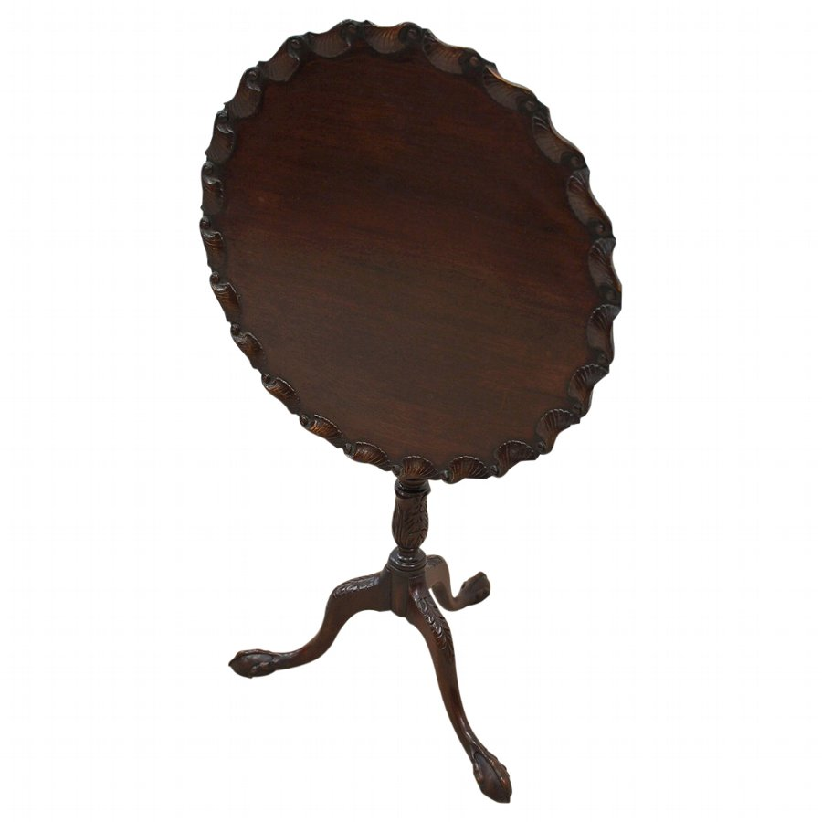 George II Style Mahogany Snap Top Table