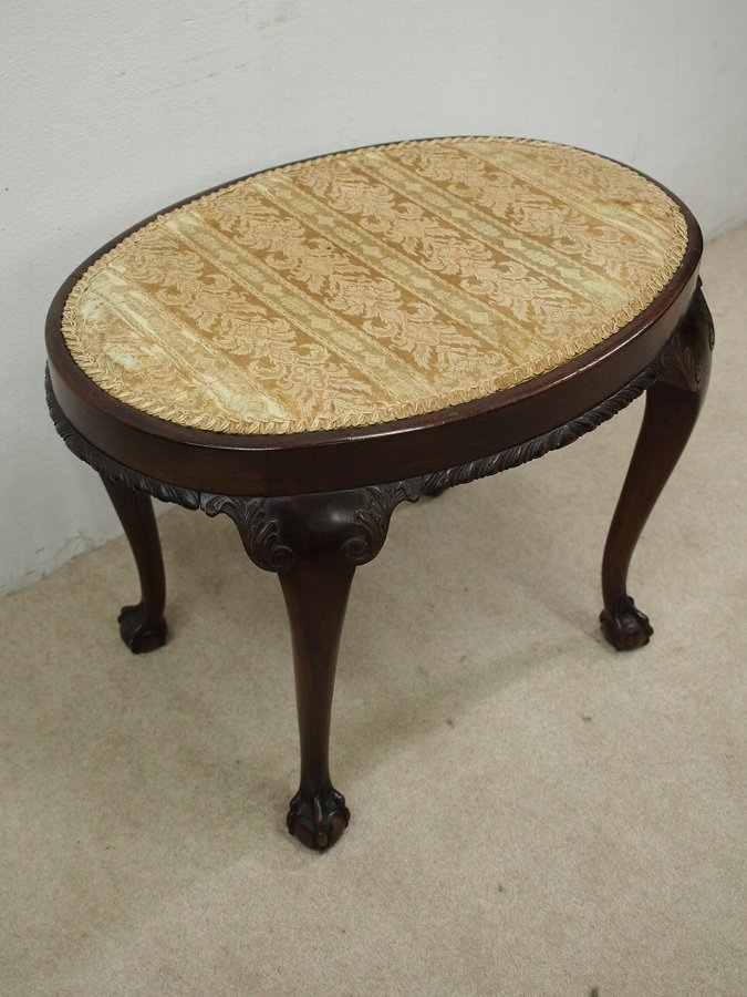 Antique Chippendale Style Stool
