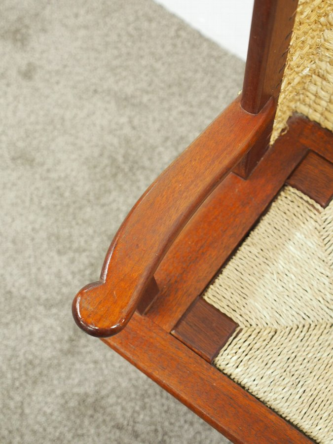 Antique Mahogany Neat Orkney Chair