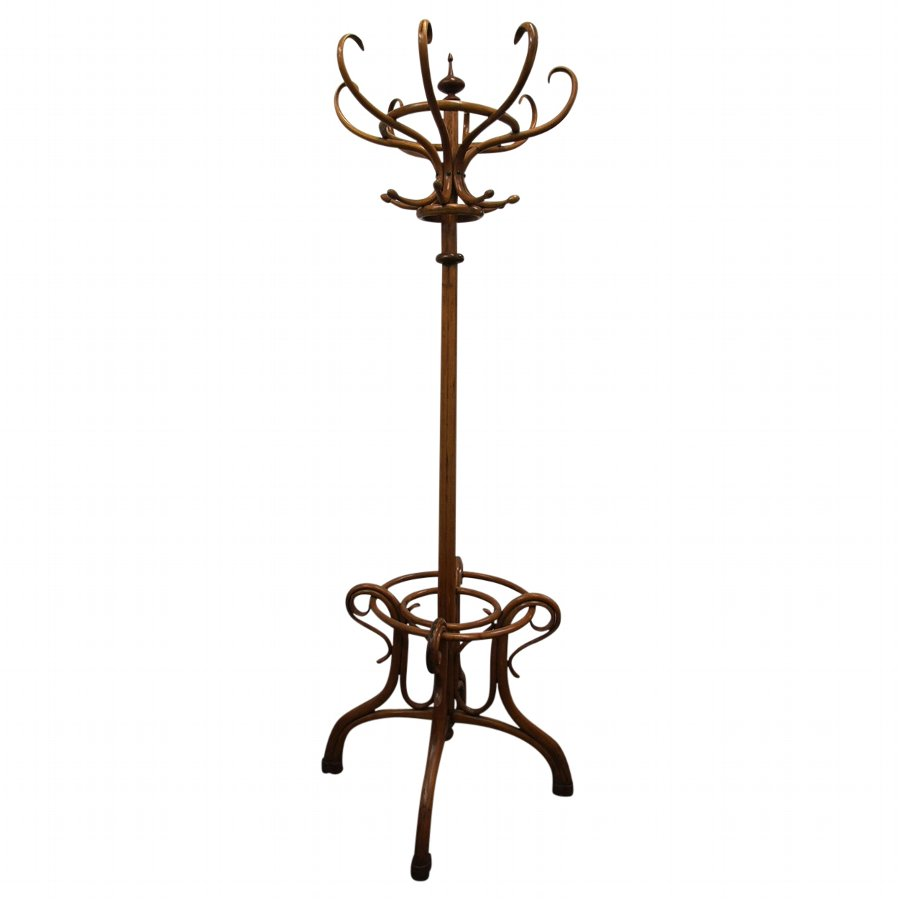 Antique Large Bentwood Hall Stand