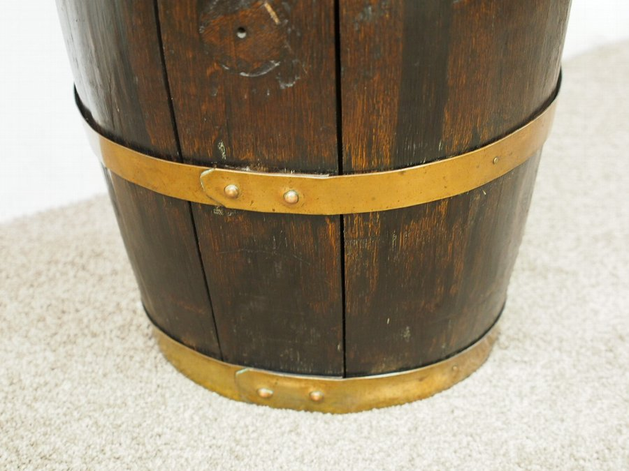 Antique Converted Whisky or Sherry Oak Barrel