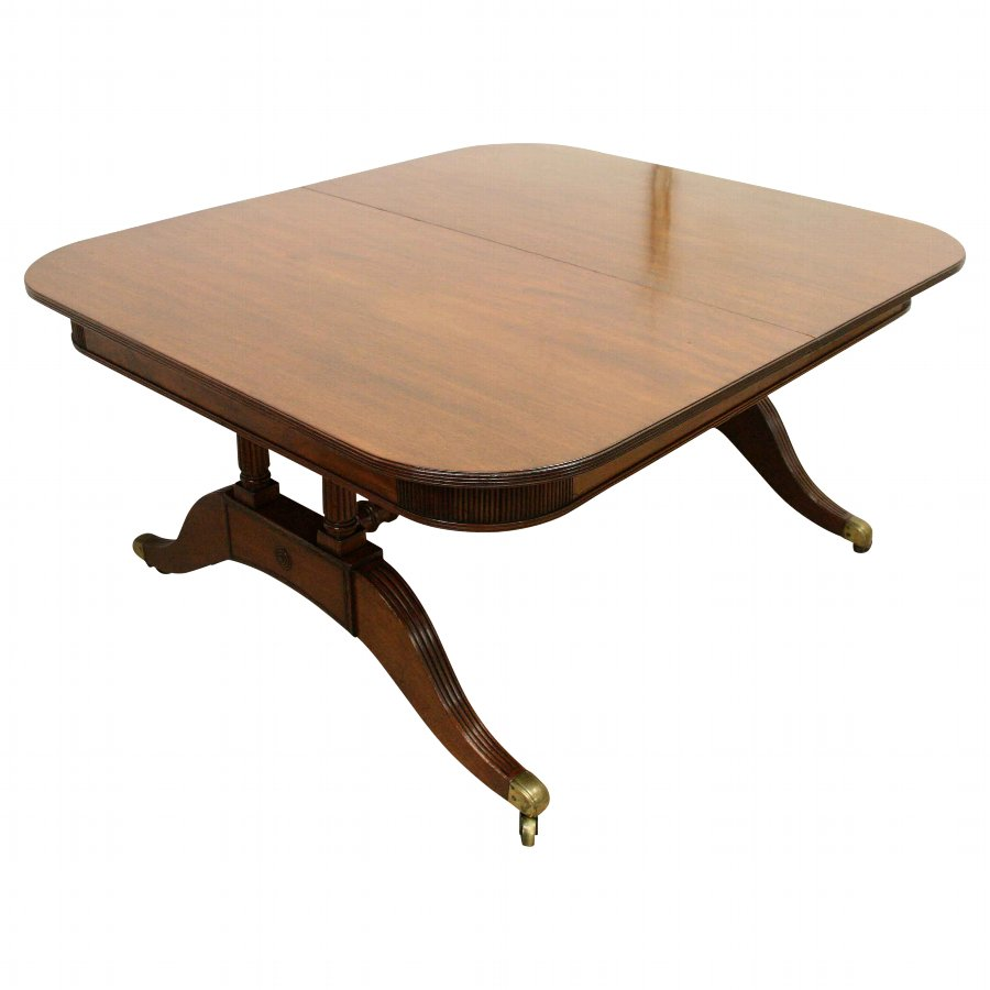 Mahogany Dining Table by William Trotter of Edinburgh