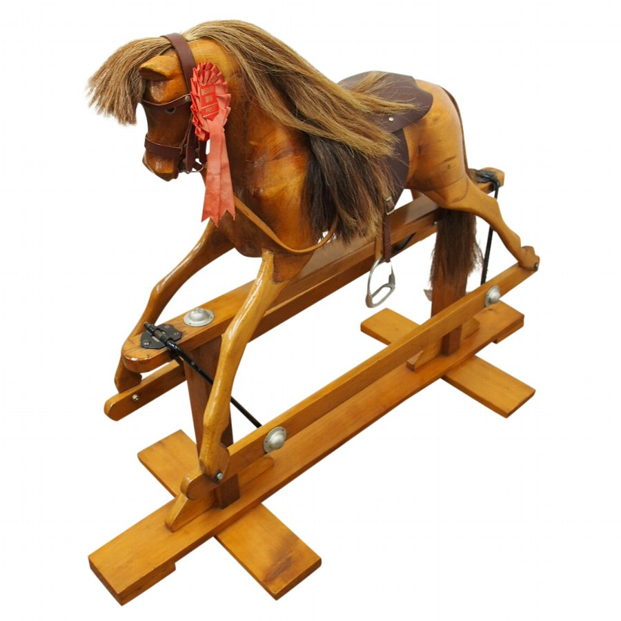 Victorian Style Rocking Horse