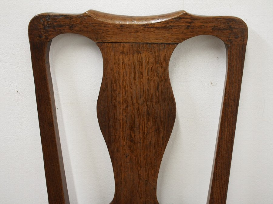 Antique George III Scottish Oak Country Chair