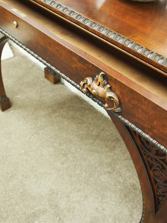 Antique William IV Mahogany Hall Table or Serving Table