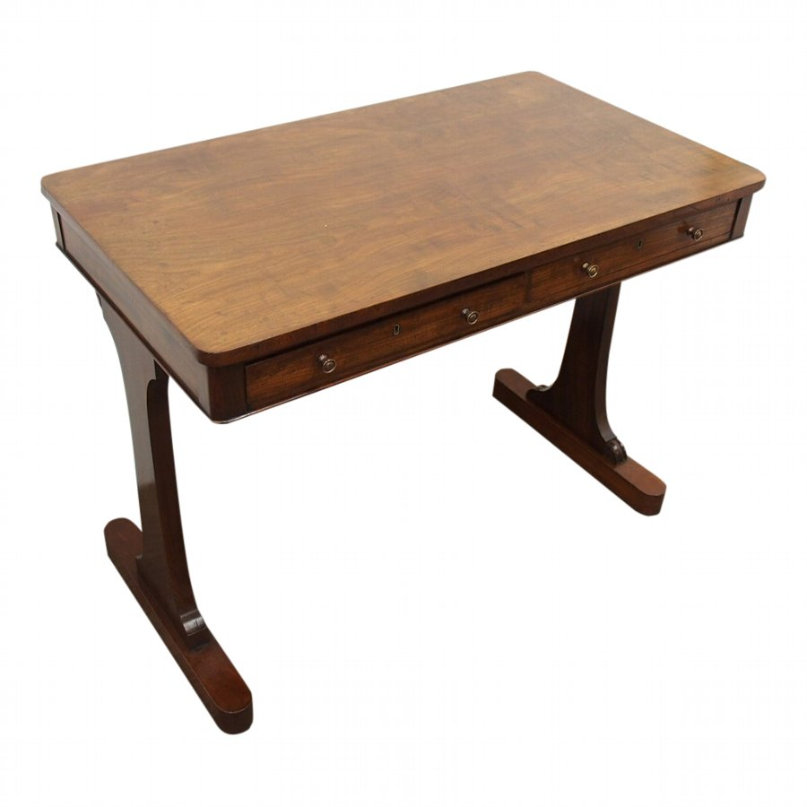 George III Mahogany Side Table or Library Table