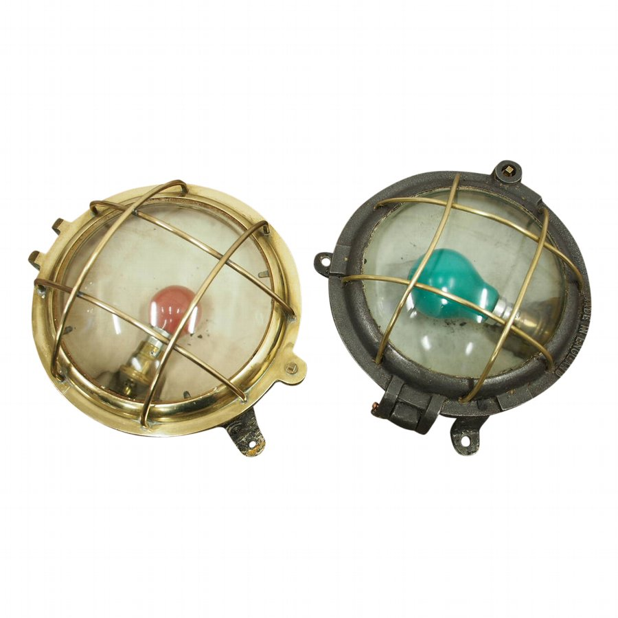 Pair of Nautical Style Lamps