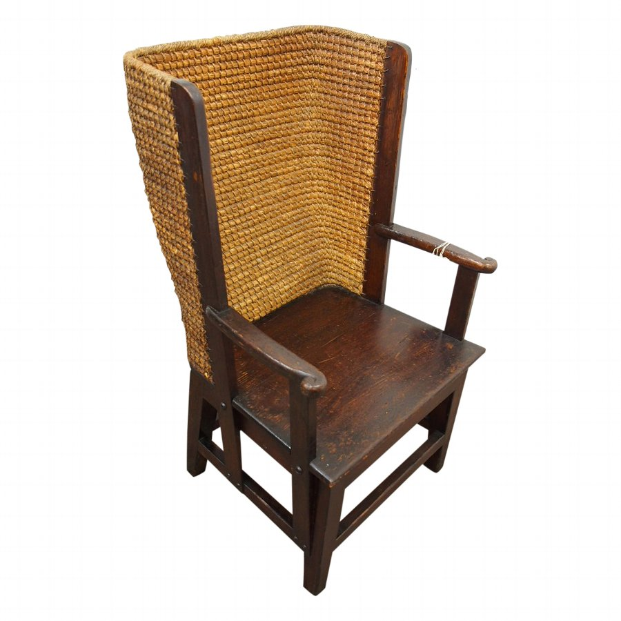 Dark Stained Pine Orkney Chair