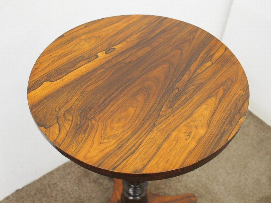 Antique George IV Rosewood Occasional Table