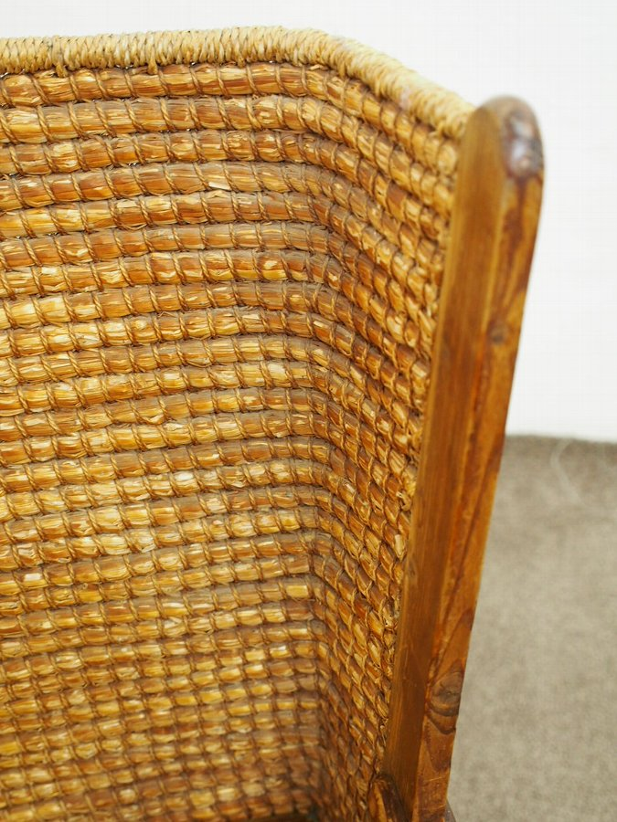 Antique Pine Framed Orkney Chair