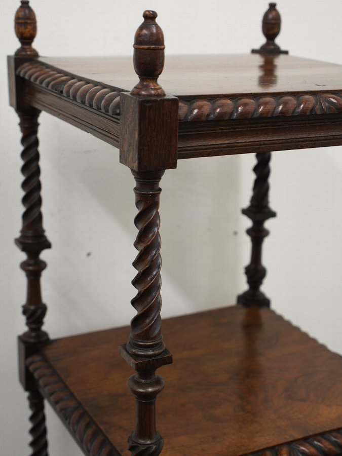 Antique Anglo-Indian Hardwood Whatnot