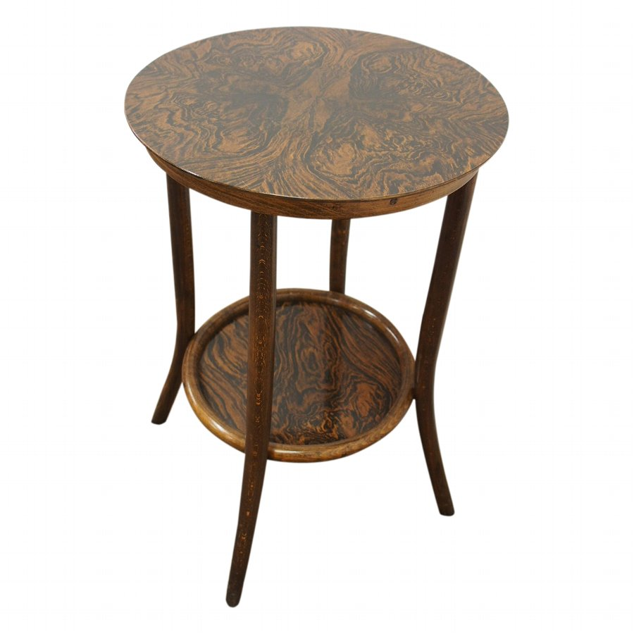 Bentwood Occasional Table by Fischel