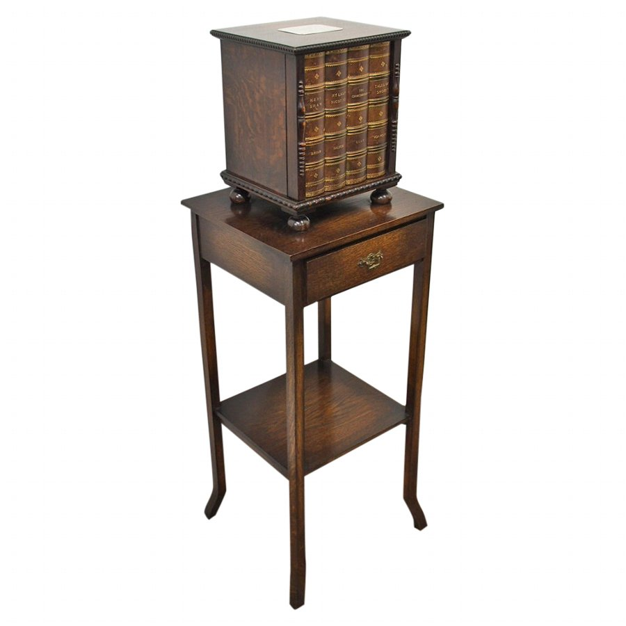 Antique Cabinet on Table by Mappin and Webb